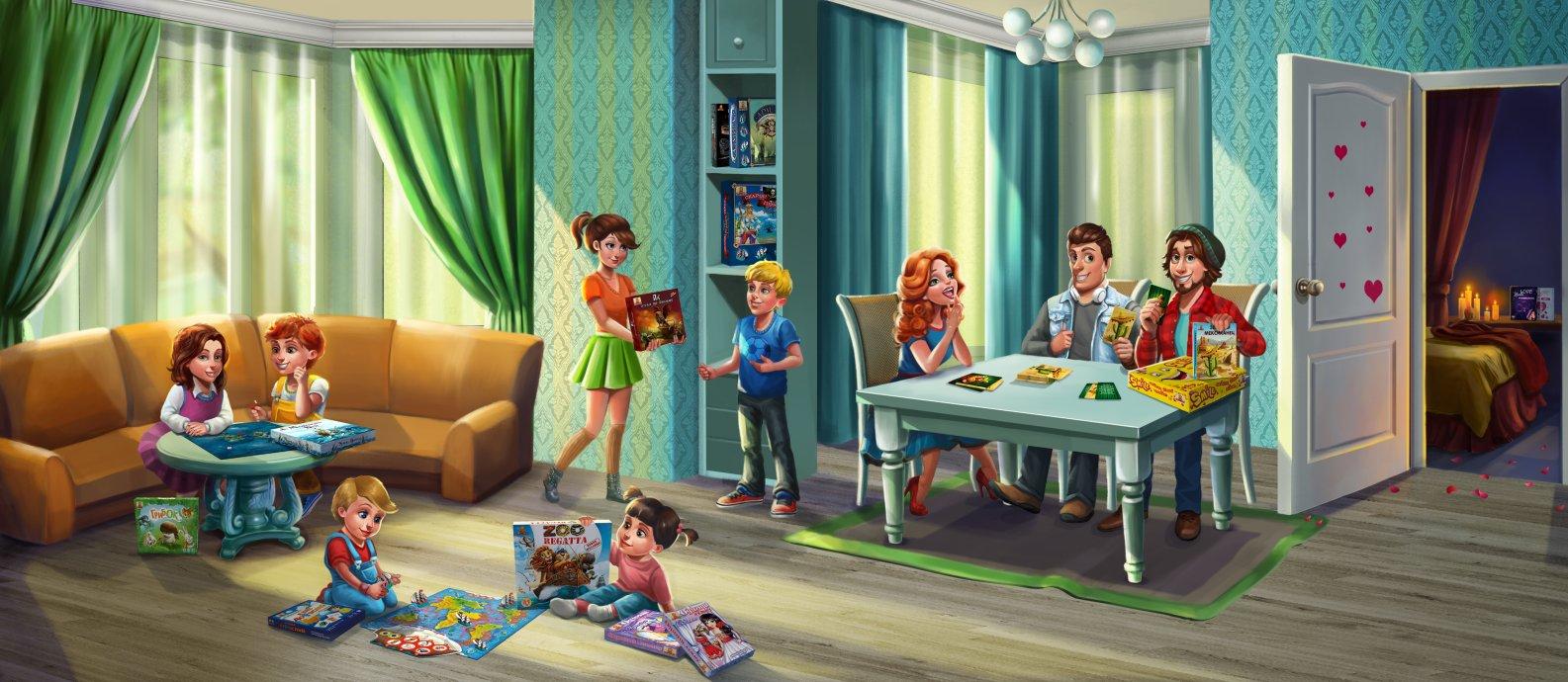 Настольные игры для детей и взрослых от Bombat Game