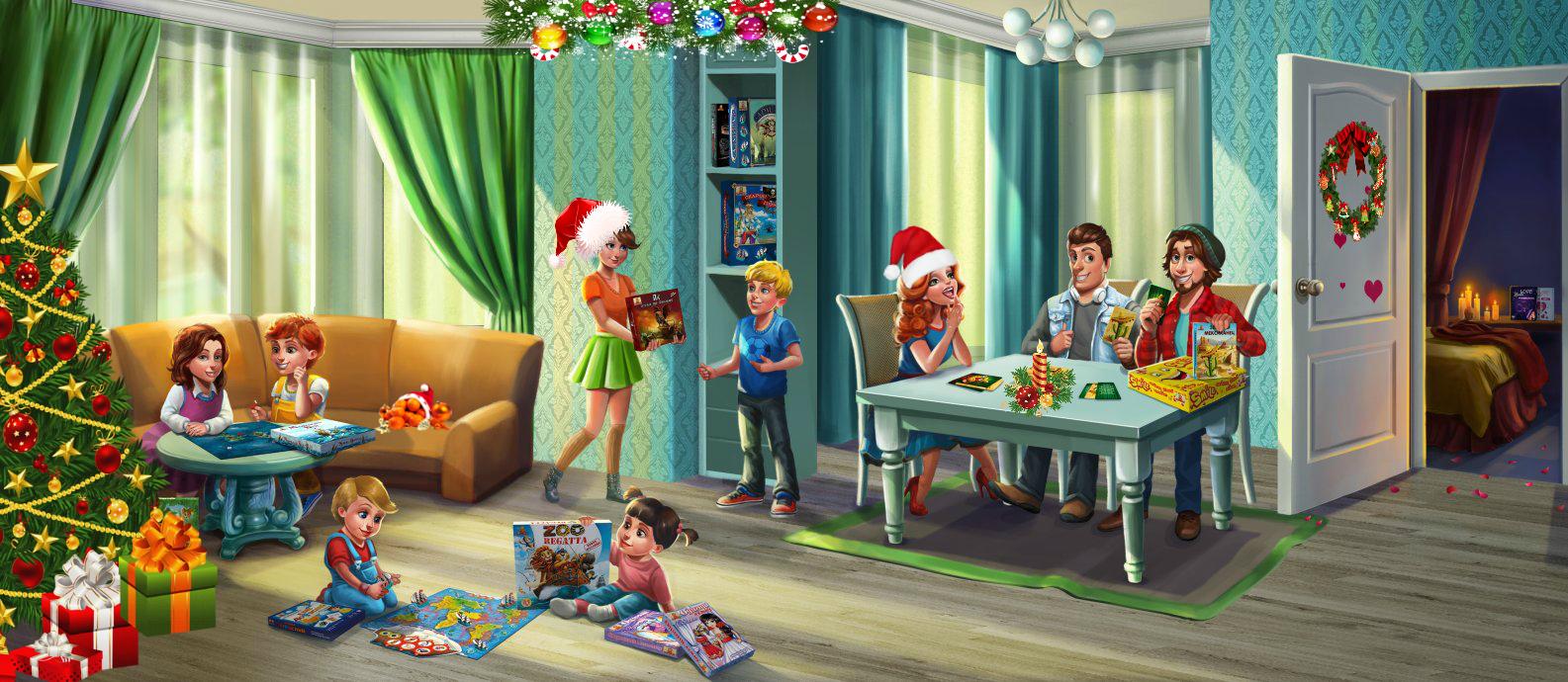 Настільні ігри для дітей і дорослих від Bombat Game