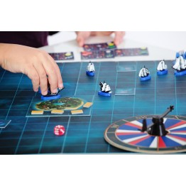 «Admiral» military strategy board game system
