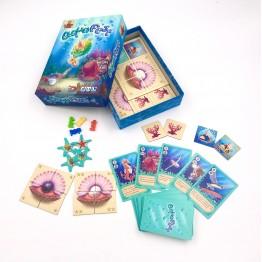 "Funny board game ""Aqua Fest"""