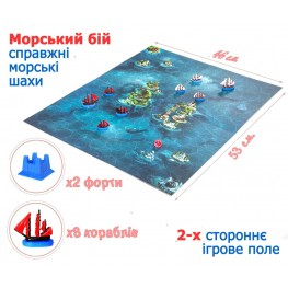 «Naval battle» board game