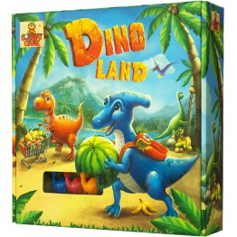 «Dino LAND» настольная игра