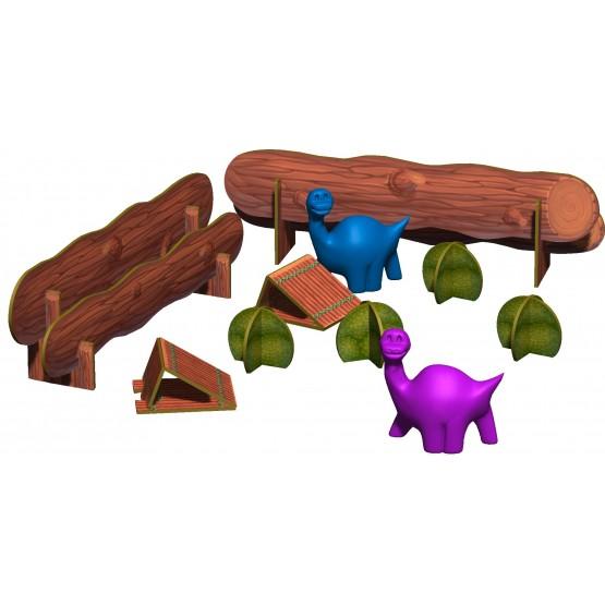 «Dino SPORT» -  funny dinosaur races