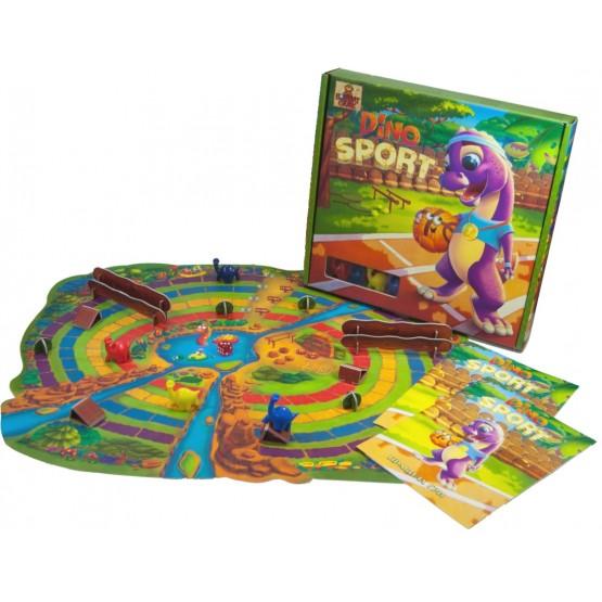 «Dino SPORT» - веселі перегони динозаврів