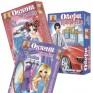 Set of 3 magnetic games for choise: Adeline, Oksana, Eveline and Taras