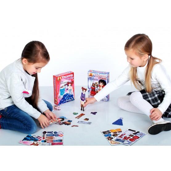 Одягни ляльку: Оксана - Магнітна гра