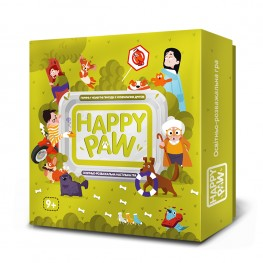 "Board game about dogs ""Happy Paw"""