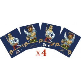 Set of captains cards (16 psс.)
