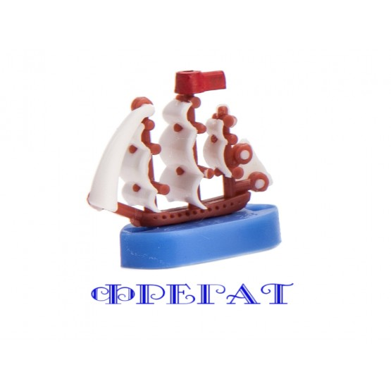 "Ships in the set for games ""Admiral"", ""Naval battle"", ""Treasures of the old pirate"""