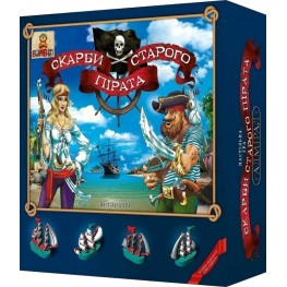 «Treasures of old pirate» board game