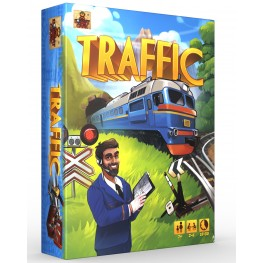 Карточная игра «Traffic» - возьми с собой в поездку!