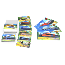 "Card game ""Traffic"" - take it with you on a trip!"