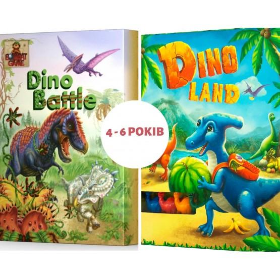 Набор из двух настольных игр для детей на возраст от 4 до 6 лет