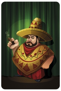Зеленый Мексиканец: карта Дона (сзади)
