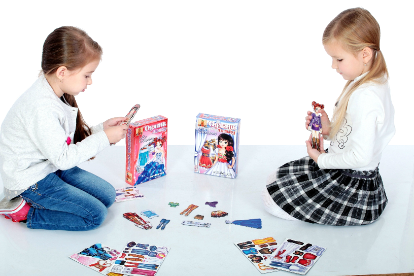 Set of 2 magnetic games